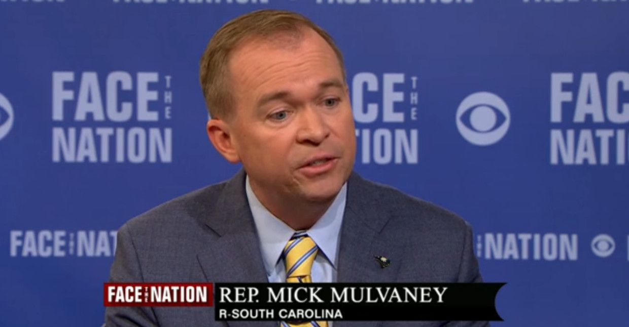 Image result for PHOTO OF Mick Mulvaney,