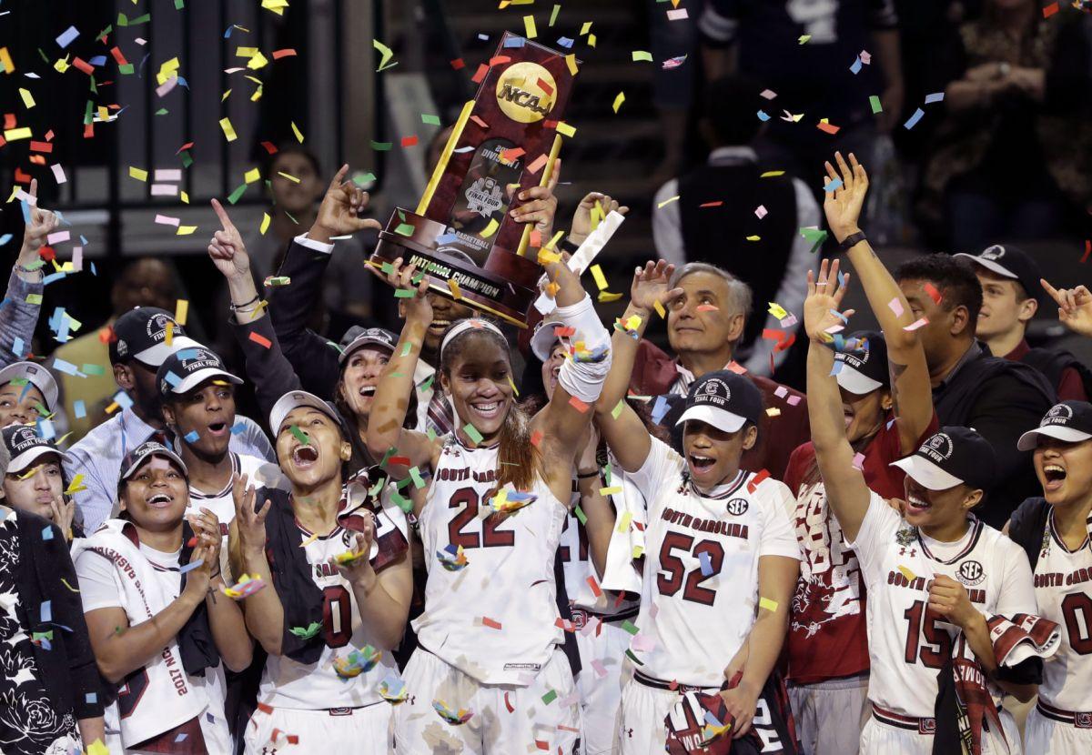 Mission accomplished: South Carolina women beat ...