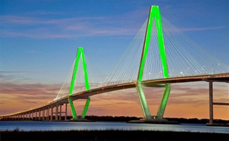 Ravenel Bridge May Glow With Irish Pride News