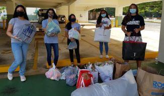 AOLG holds donation drive for children