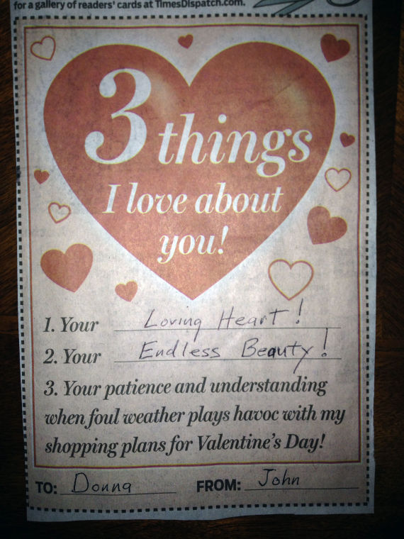 52 Love Things I You About