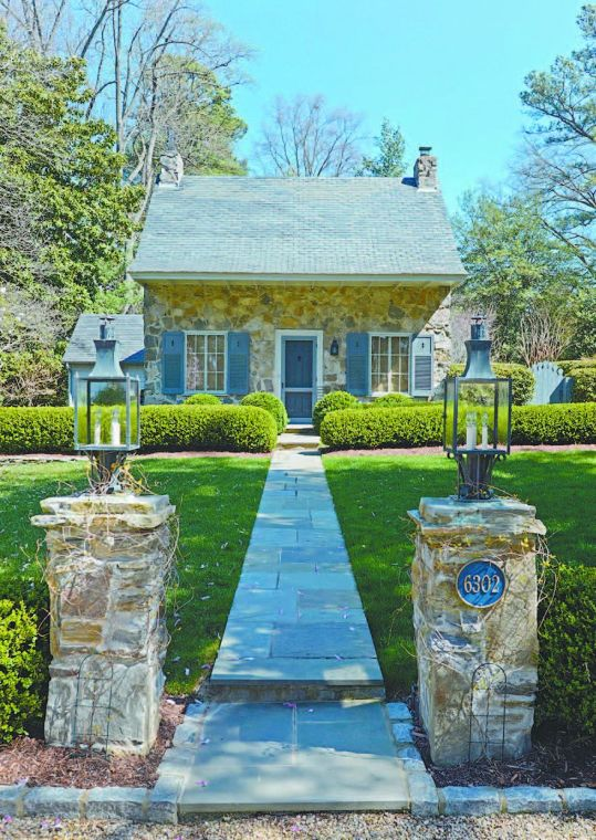 Ernest Flagg's stone cottages: Four houses near CCV blend ...