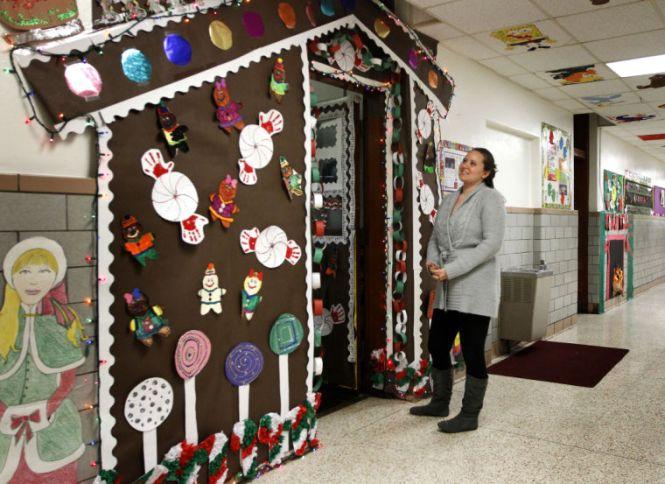 Great Decorating Doors 12 Christmas Door Contest Winners Doordecorating Beautiful