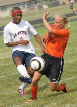 St. Peter boys soccer shuts out 1st 2 opponents - St ...