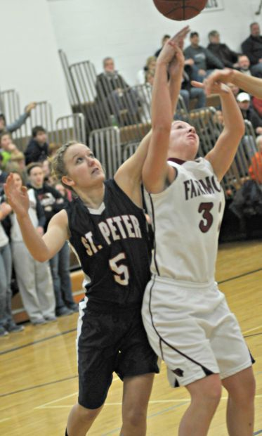 St. Peter girls basketball can't stand up to Cards ...