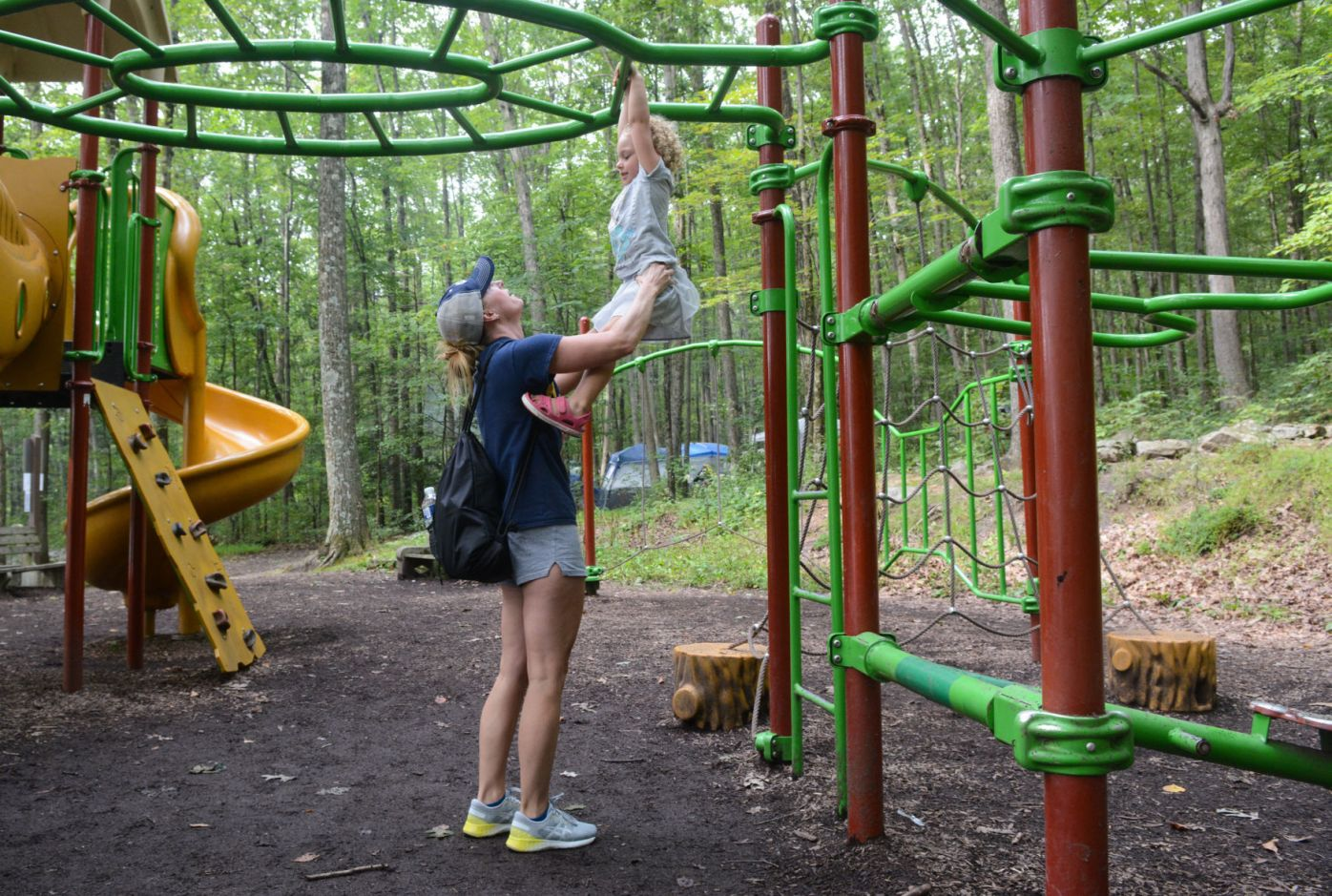 Visitors enjoy outdoor activities at state parks on Labor ...
