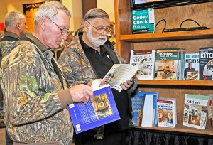 puzzle at the St. Louis Woodworking Show in Collinsville on Saturday