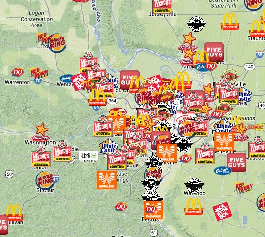 Wheres Nearest Fast Food