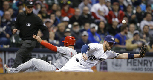 Martinez on the mark as Cardinals blank Brewers   St ...