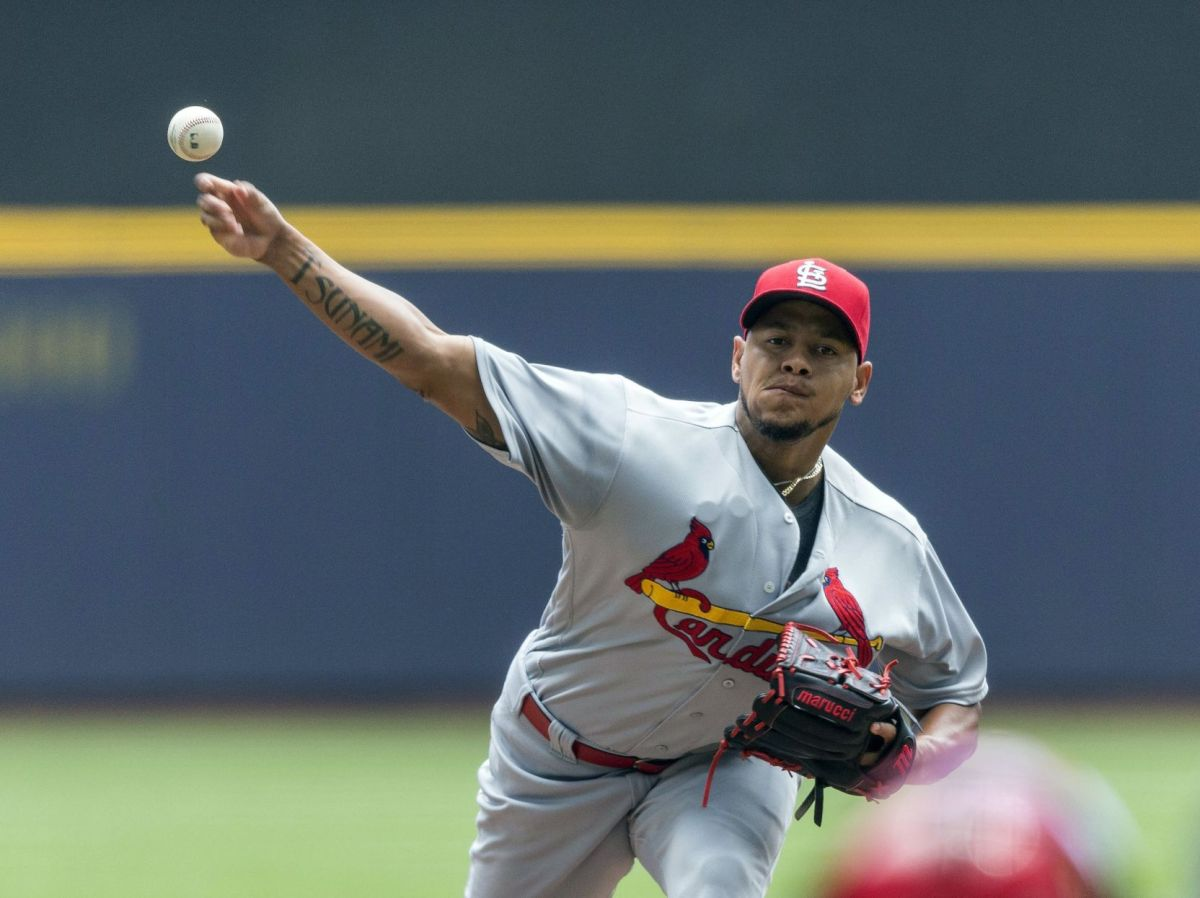 Cards score five in ninth, beat Brewers 8-1   Cardinal ...