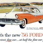 Old Car Column The 1956 Ford Fairlane Victoria Was A Handsome Offering For New Car Buyers Automotive Stltoday Com