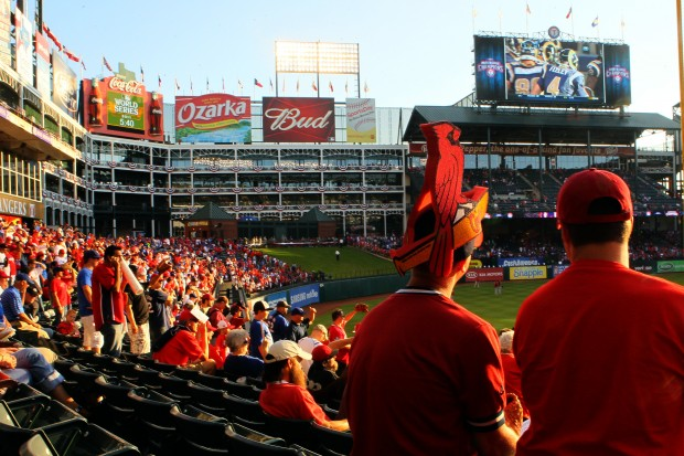 World Series Game 4 St. Louis Cardinals Texas Rangers