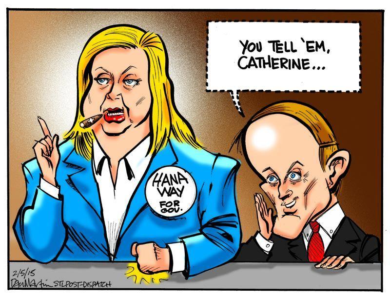 hanaway cartoon
