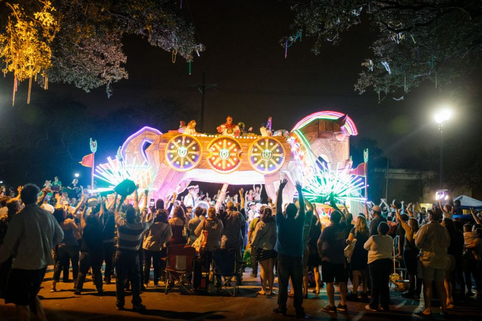 Replay Orpheus 2018 In New Orleans Krewe Cam