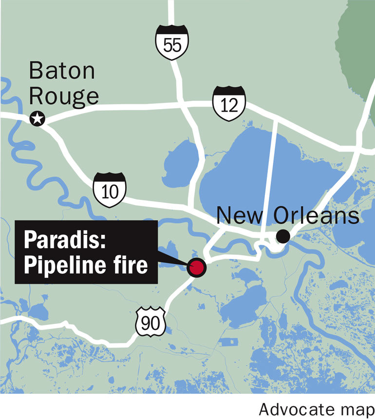 021017 Paradis pipeline fire