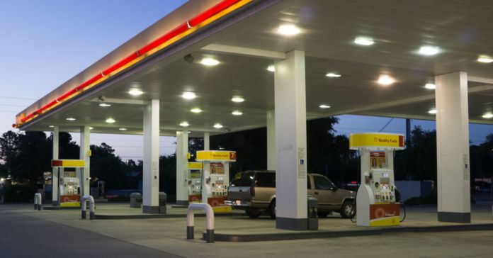 FILE - Gas station, fuel tax, infrastructure