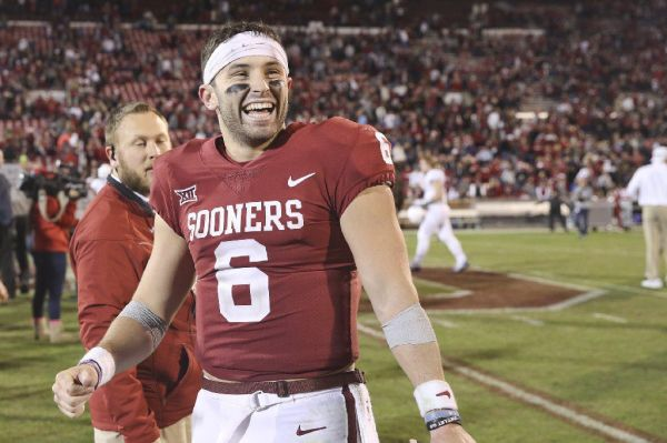 Saturday is Baker Mayfield's 23rd birthday. To celebrate ...