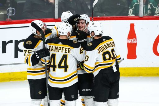 NHL: Boston Bruins at Minnesota Wild