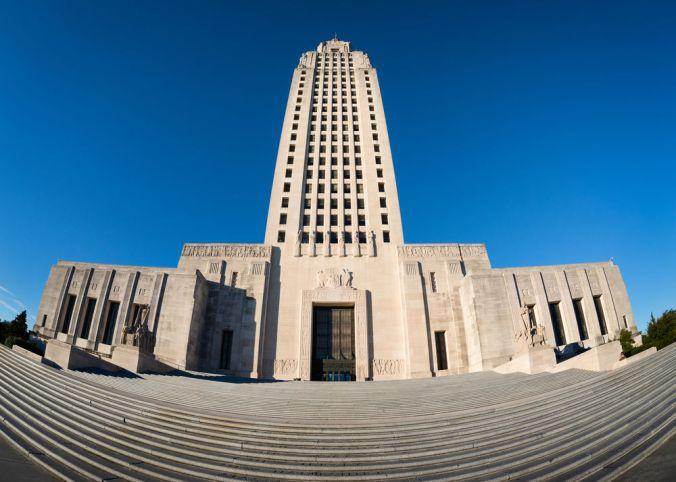 FILE - Louisiana State Capitol
