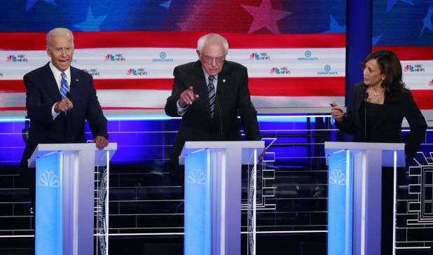 Image result for Harris and Biden campaigns spar over desegregation busing one week after first debate