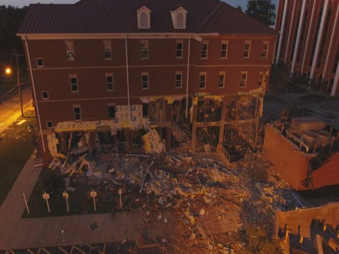 Murray State Campus During Dorm