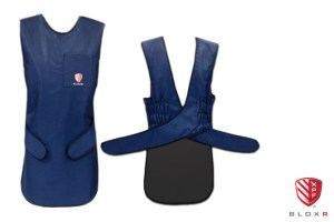 BLOXR XPF Elastic Back Apron for scatter radiation protection