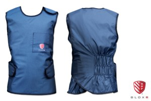 BLOXR XPF Elastic Back Vest for scatter radiation protection