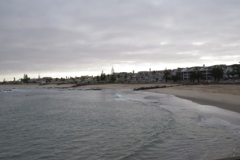 Beachfront - Swakopmund. From the end of the jetty.