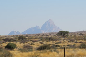Spitzkoppe in the distance
