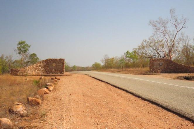 Kakadu NP south entrance