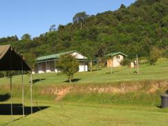 Campsites towards the ablutions