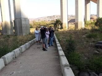 Below Kwadebeka Bridge