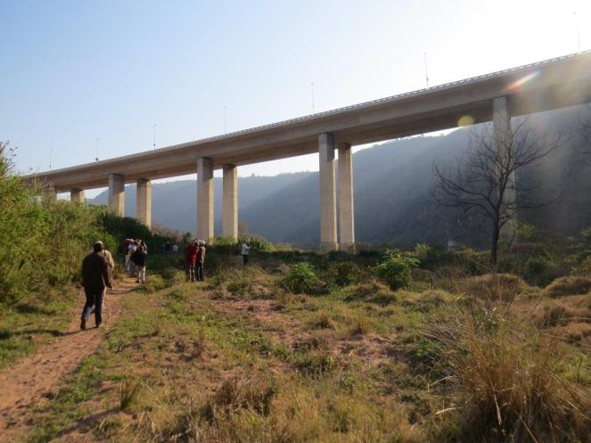 Below Kwadebeka Bridge