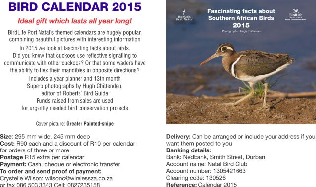 BLPN Calendar 2015