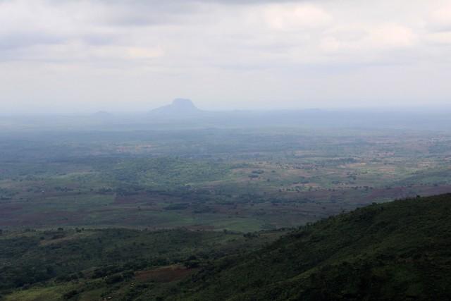 View from road to Gorongoza