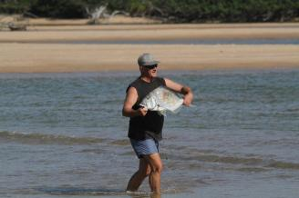 Largest of the fish caught