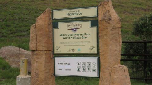 Highmoor entrance
