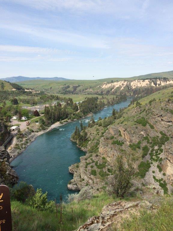 Flathead River above Kerr Dam