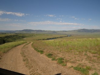 Flatlands around Flathead River