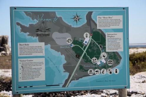 Bird Island - layout map.