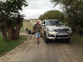 Bontebok -getting out to select a campsite