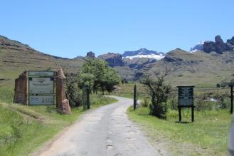 Entrance to Drak Park