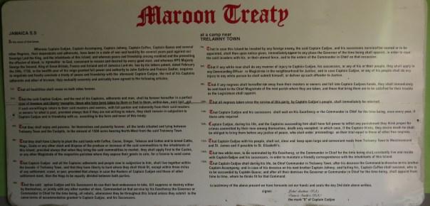 Maroon Treaty