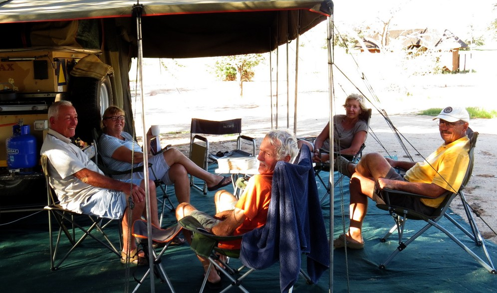 Mata Mata campers
