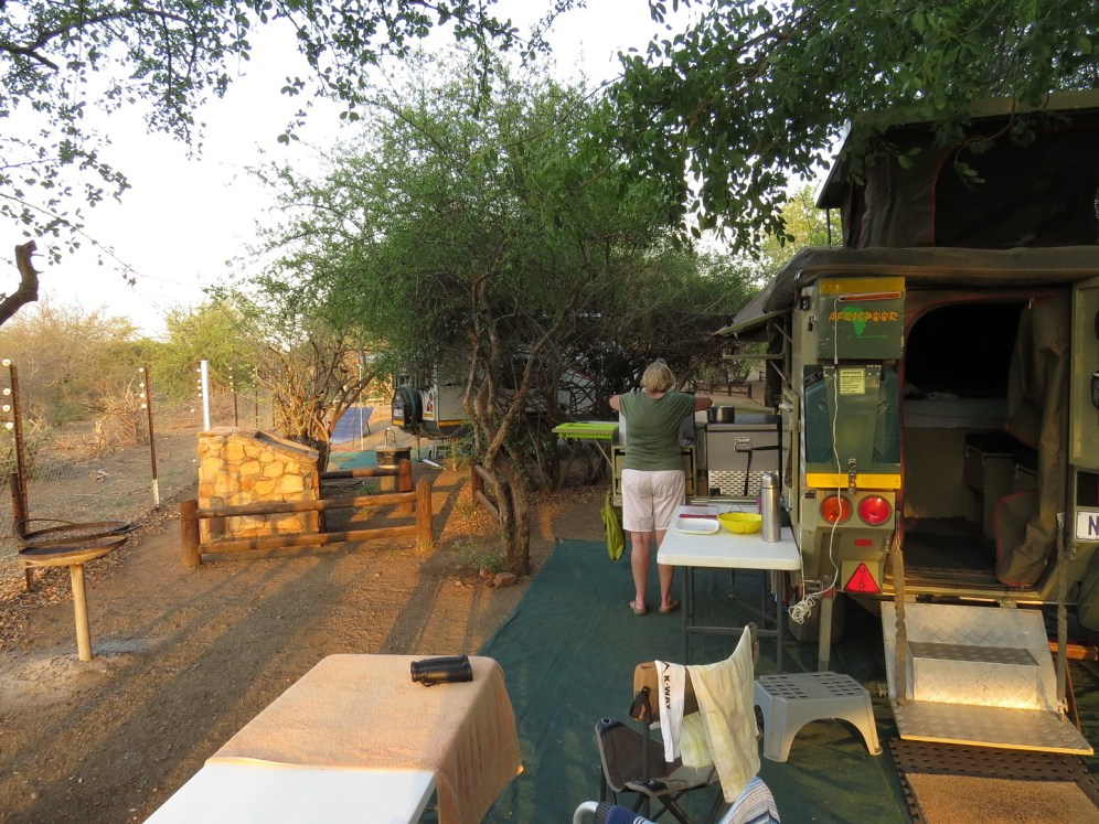 Balule campsite