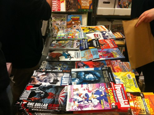 Stores like JHU Comics offer a friendly, welcoming atmosphere to attract new and returning customers to their shop.