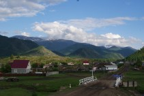 Arriving in Kulada.