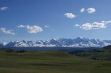 Mount Aktru mountain area