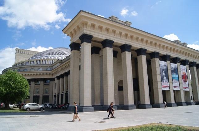 The impressive opera and ballet theatre