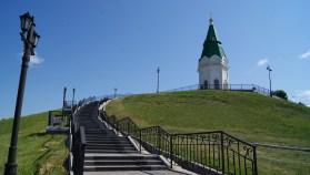 The Chapel of Saint Paraskeva Pyatnitsa, known from the 10-rouble bill.